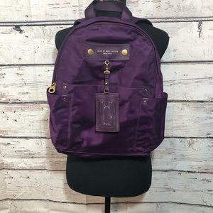 Purple Marc Jacobs backpack